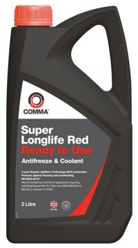 Comma Super Longlife Red-Ready to use, (красный)